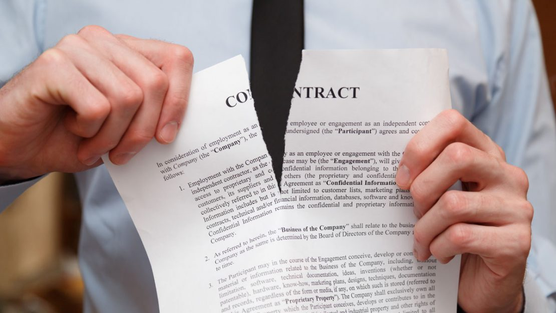 Consequences Of Breaking A Real Estate Contract